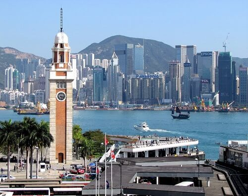Oude Klokkentoren - Kowloon, Hong Kong, S.A.R. China