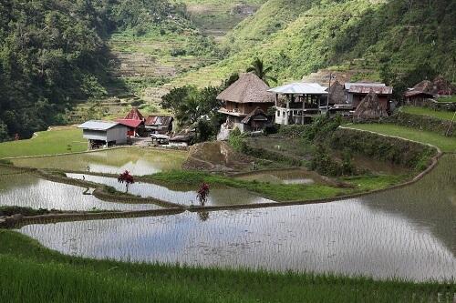 Banga-an (Bagaan) Village - Provincie Ifugao, Luzon, Filipijnen