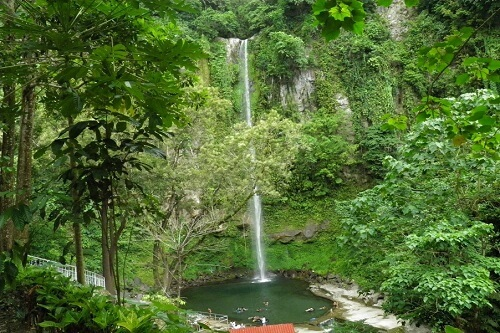 Katibawasan Waterval - Camiguin, Northern Mindanao, Filipijnen