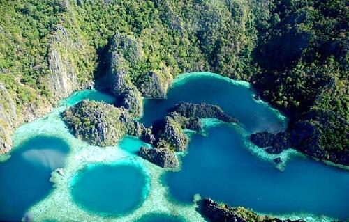 Twin Lagoons - Coron Island, Palawan, Filipijnen