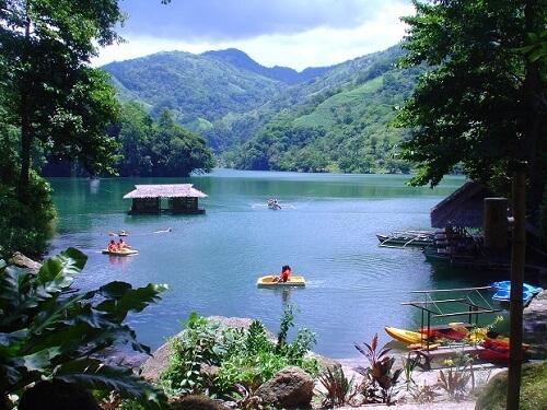 Lake Balanan - Siaton, Negros Oriental, Central Visayas, Filipijnen
