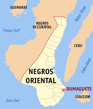 Locatie Dumaguete - Negros Oriental, Central Visayas, Filipijnen