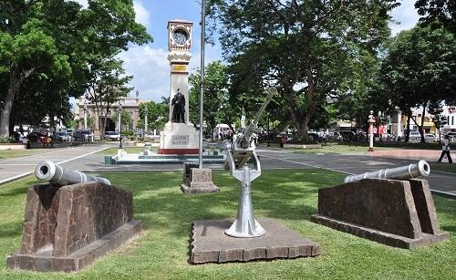 Quezon Park - Dumaguete, Negros Oriental, Central Visayas, Filipijnen