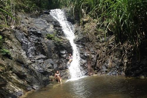 Nagkalit-kalit waterval - El Nido, Palawan, Filipijnen