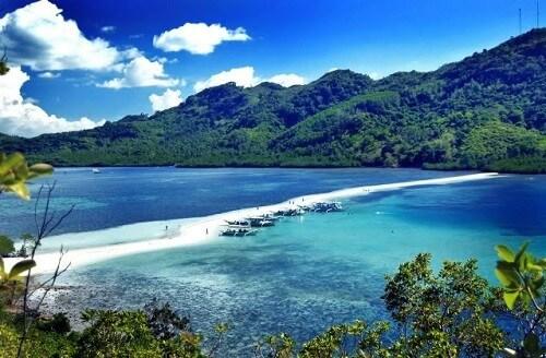 Snake Island in de Bacuit Bay - El Nido, Palawan, Filipijnen