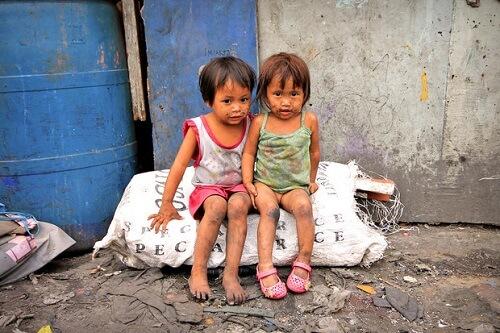 Sloppenwijk ervaring - Manilla, Luzon, Filipijnen