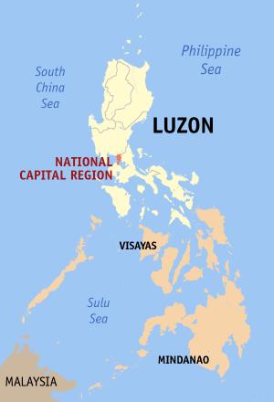 Locatie Metro Manila (Manilla)