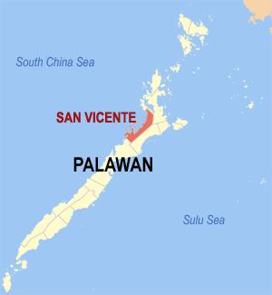 Gemeente San Vincente op Palawan Island, Filipijnen