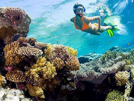 Snorkelen in de Honda Bay - Puerto Princesa, Palawan, Filipijnen