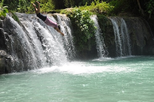 Cambugahay Falls - Siquijor, Central Visayas, Filipijnen