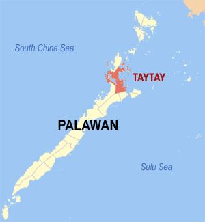 Gemeente Taytay op Palawan Island, Filipijnen
