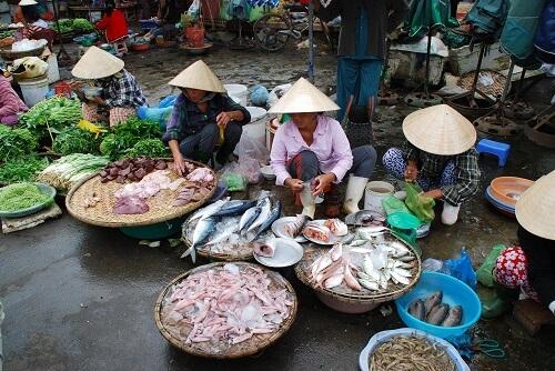 Dong Ba Market - Hue, Vietnam
