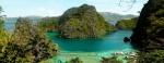 Uitzichtpunt Kayangan Lake - Coron, Palawan, Filipijnen