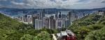 Uitzicht Victoria Peak - Hong Kong